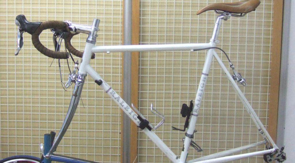 ロードバイクのリフレッシュメンテナンス