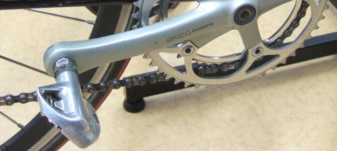スポーツバイクのペダル交換で固いペダルを外す時の秘策