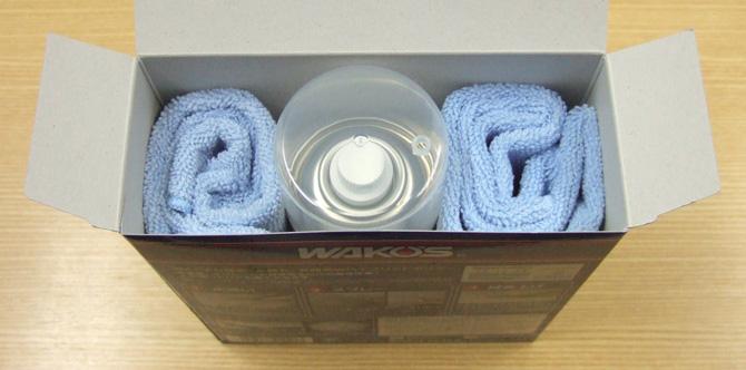 フレームを保護するガラス系コート剤で耐水性と耐光性アップ